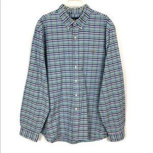 Polo Ralph Lauren Plaid Button Down Shirt Size XXL